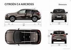 dimensions citroen c3 aircross nouveaut 233 s le citro 235 n c4 aircross arrive chez aures auto