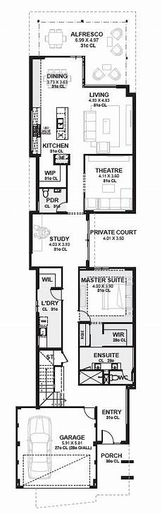 Grundriss Haus 8m Breit - 10m wide house plans home designs perth novus homes