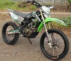 Motor Trail Modifikasi Murah by Daftar Harga Pasaran Motor Kawasaki Klx 150 S Bekas Dijual