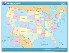 ᐅ Karte Der Usa Alle 50 Bundesstaaten Im 220 Berblick
