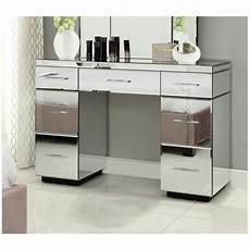mirrored bedside tables dressing table package