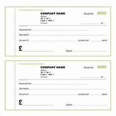 receipt book template receipt book template 15 free word excel pdf format