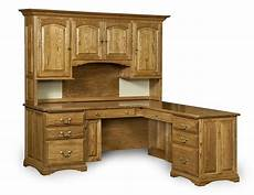solid wood home office furniture amish corner computer desk hutch home office solid wood
