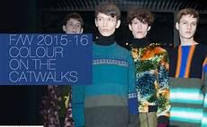 Die Trendfarbe Vom Menswear Catwalk Herbst Winter 2015 16