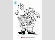 Print de gratis kleurplaat van Piet Piraat, kleurplaat
