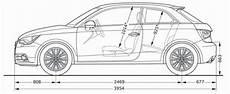 Audi A1 8x Abmessungen Technische Daten L 228 Nge