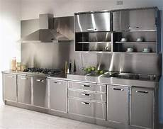 Metal Kitchen Furniture The Best Reason To Buy Metal Kitchen Cabinets Modern