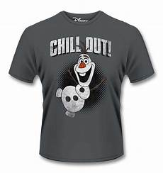 official disney frozen olaf chill out t shirt somethinggeeky