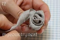 fiori in tessuto tutorial tutorial per fare le di stoffa tutorial per creare