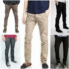 jual beli chino pria celana chino celana panjang celana