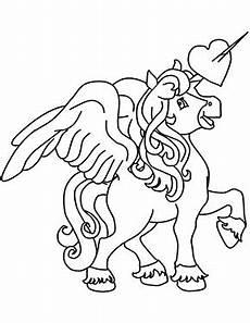Einhorn Pegasus Ausmalbilder Ausmalbild Pegasus Einhorn Zum Ausdrucken