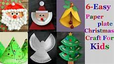 basteln weihnachten kinder 6 easy paper plate craft ideas for part 2