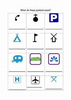 map symbols worksheet grade 4 11622 map symbols by svxenos teaching resources tes