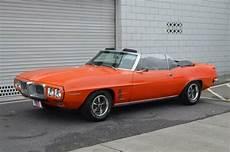 1968 pontiac firebird orange manual 3577 miles for sale photos technical specifications