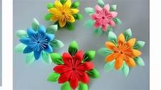 Blumen Aus Papier Notizzettel Origami Diy