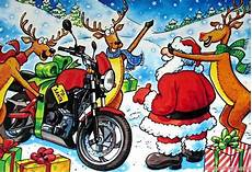 merry christmas and happy holidays triumph triumph rat motorcycle