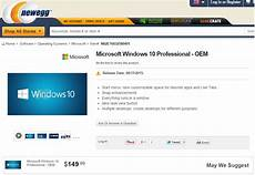 prix windows 10 newegg just leaked the windows 10 price and release date