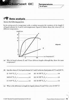 analyzing science data worksheets 12178 physics matters workbook 1 exodus books
