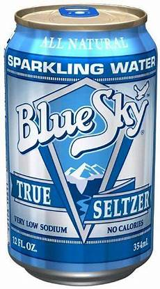 Amazon Com Bluesky 12 Pairs Blue Sky Natural True Seltzer 12 Ounce Cans Pack Of 24