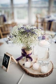 lavender and baby s breath centerpiece google search