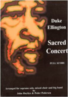 sacred concert partitur sheet music by duke ellington sheet music plus
