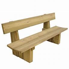 banc bois pour banc en bois 4 places doublet