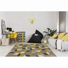 tapis g 233 om 233 trique style scandinave or grizly