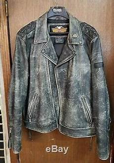 Used Harley Davidson Leather Jackets by Vintage Harley Davidson Leather Motorcycle Jacket Size 3xl