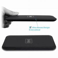 qi induktions ladeger 228 t wireless laden f 252 r apple iphone