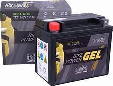 gel motorradbatterie intact ytx12 bs cbtx12 bs 12v 10ah
