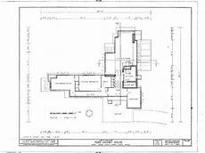 prairie house frank lloyd wright plan one of frank lloyd wright s usonian home plans a