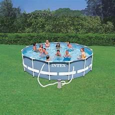 prix piscine hors sol tubulaire piscine hors sol tubulaire quot prism quot 457x107cm bleu