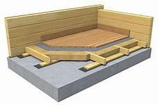 isolation plancher beton le plancher rdc sur dalle b 233 ton ou suspendu esprit nature bois
