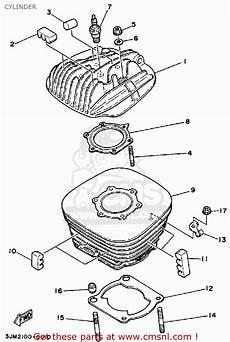 1998 200 yamaha blaster wiring diagram yamaha yfs200b blaster 1992 cylinder schematic partsfiche