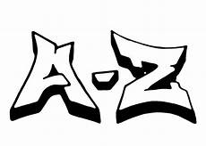 Ausmalbilder Graffiti Buchstaben Graffiti Buchstaben A Z Clipart Best