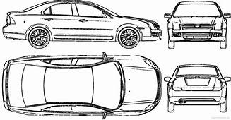 Blueprint Ford Mustang Gt 500 2007 By
