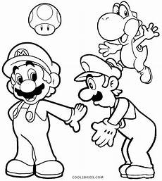 printable luigi coloring pages for