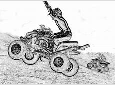 Kids ATV Coloring Pages