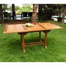 Table En Teck Massif Huile Pour Salon Et Jardin
