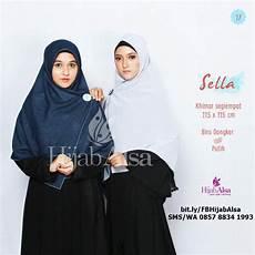 Jual Harga Jilbab Segi Empat Syar I Bolak Balik