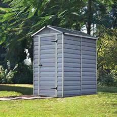 palram skylight plastic anthracite apex shed 4x6 garden street
