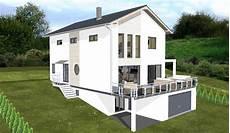 Grundriss Haus Mit Garage Im Keller planungsbeisiel einfamilienhaus garage im keller
