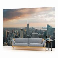 new york city mural wallpaper new york city skyline photo wallpaper wall mural