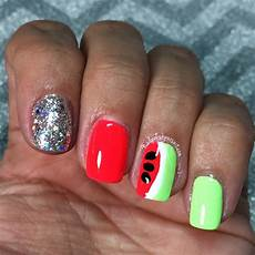 watermelon nails the polished pursuit