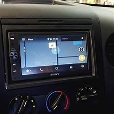 This Ford F150 Got An Upgrade With A New Sony Radio With