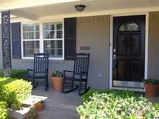 exterior color schemes pinterest painted brick houses mid centu