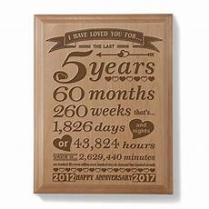 5 Year Wedding Anniversary Gift Ideas For
