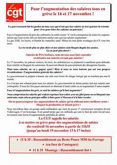 greve 17 novembre 2018 pour l augmentation des salaires tous en gr 232 ve les 16 et
