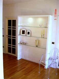 mensole idee mobili lavelli libreria in cartongesso mensole
