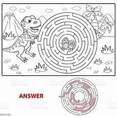 help dinosaur find path to nest labyrinth maze for
